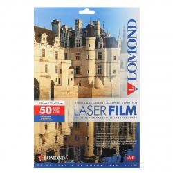 Пленка Lomond 100/A4/50 для цв. лаз. принт. прозрачная 0703415