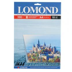 Пленка Lomond 100/A4/10 для цв.стр. принт. прозрачная 0708411