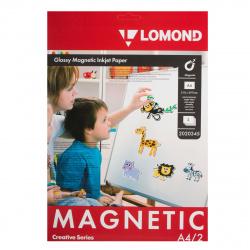 Бумага с магнитным слоем А4/2 глян Lomond 2020345