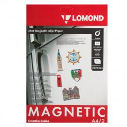 Бумага с магнитным слоем А4/2 мат Lomond 2020346