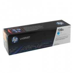Картридж HP Color LJ PRO CP1525N/CP1525NW №128 cyan CE321А  (о)