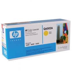 Картридж  HP Color LJ 1600/2600N yellow Q6002А 2K (o)