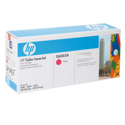 Картридж  HP Color LJ 1600/2600N magenta Q6003А 2K (o)