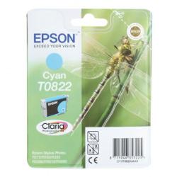 Картридж EPSON T08224A/T11224A10  R270/290/RX590/T50 cyan 7,5ml (о)