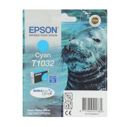 Картридж EPSON T10324A10 Stylus T30/T1100/ T40W/TX600FW cyan 11,1мл (o)