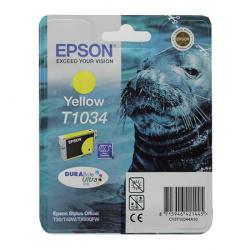 Картридж EPSON T10344A10 Stylus T30/T1100/ T40W/TX600FW yellow 11,1мл (o)