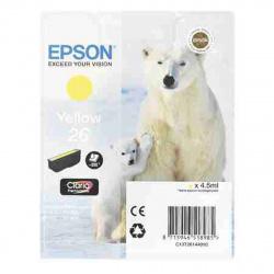 Картридж EPSON T2614 для XP600/700/800 yellow (о)