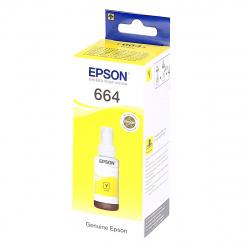 Чернила  EPSON Т6644 для L100/L110/L210/L300/L350/L355 yellow (70мл) (о)