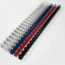 Пружина пластиковая для переплета 6 мм (прозрачные) (1/100)