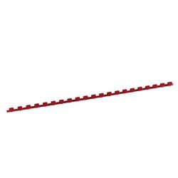 Пружина пластиковая для переплета 6 мм (красные) (1/100)