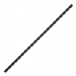 Пружина пластиковая для переплета 8 мм (черные) (1/100)