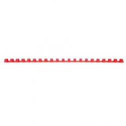 Пружина пластиковая для переплета 8 мм (красные) (1/100)