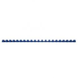 Пружина пластиковая для переплета 10 мм (синие) (1/100)