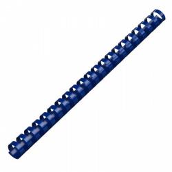 Пружина пластиковая для переплета 51 мм (синие) (1/50)
