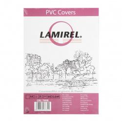 Обложки для переплета пластик прозрачный  А4  0,15 мм (1/100) Lamirel