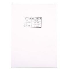 Обложки для переплета пластик прозрачный  А4  0,25 мм (1/100)