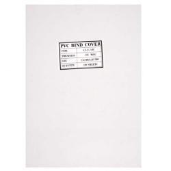 Обложки для переплета пластик прозрачный  А4  0,3 мм (1/100)