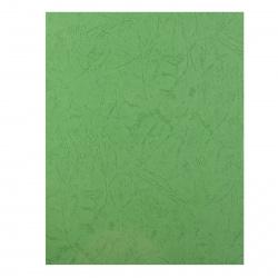 """Обложки для переплета картон  А4 """"кожа"""" 230г/м (светло-зеленые) (1/100)"""
