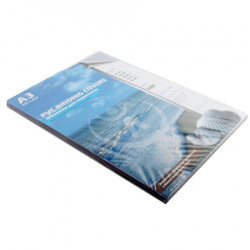 Обложки для переплета пластик прозрачный  А3  0,15 мм (1/100)