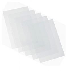 "Термообложки 18,0 мм пластик прозр./картон белый ""глянец"" (1/60)"