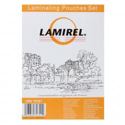 Стартовый набор пленок для ламинирования А4, A5, A6 по 25 шт., (75 мк) Lamirel