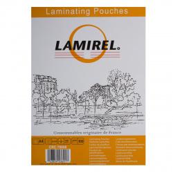 Пленка для ламинир.216*303 А4 (100мк) глянец Lamirel 100шт.
