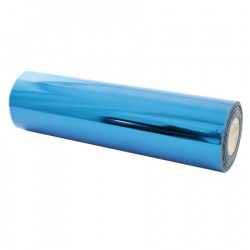 Фольга для тиснения № 07 (синяя) 210мм*120м