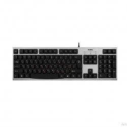 Клавиатура SVEN KB-S300, USB серебро