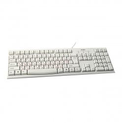 Клавиатура SVEN KB-S300, USB белая