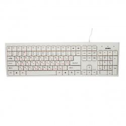 Клавиатура SVEN Standard 303, USB белая