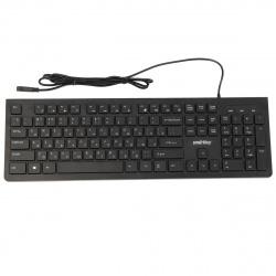 Клавиатура Smartbuy 206 мультимедиа, USB черная (SBK-206US-K)/20