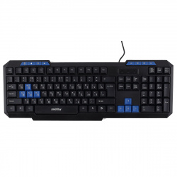 Клавиатура Smartbuy ONE 221 мультимедиа USB черная (SBK-221U-К)