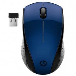 Манипулятор мышь HP 220 1200dpi, оптическая, USB, беспроводная синяя