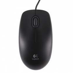 Манипулятор мышь  Logitech B100 Optical  USB 910-003357 Black