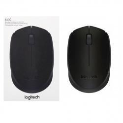 Манипулятор мышь Logitech B170  Wireless mouse black (910-004798)