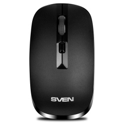Манипулятор мышь Sven RX-260W Wireless black беспроводная черная