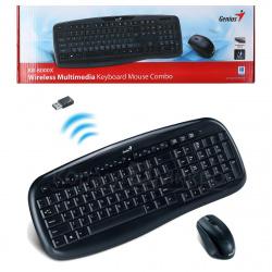 Клавиатура + мышь Genius KB-8000X беспроводные USB