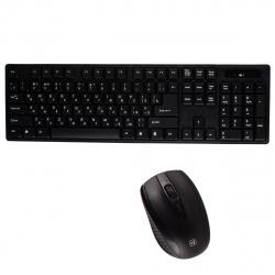 Клавиатура + мышь Defender C-915 черная беспроводная