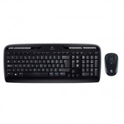 Клавиатура + мышь Logitech MK330 черный, беспроводные