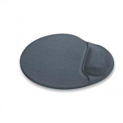 Коврик для мыши гелевый 230*205*25  BURO серый