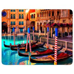 """Коврик для мыши BURO пластиковый  """"Венеция"""" 230х180х2 мм (BU-M80041)"""