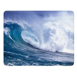 """Коврик для мыши BURO пластиковый  """"волна"""" 230х180х2 мм (BU-M10033)"""