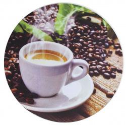 """Коврик для мыши BURO резиновый """"кофе"""" (BU-T60051)"""