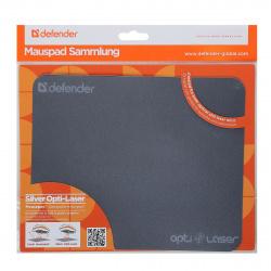 Коврик для мыши Defender Silver opti-laser sticker 4 вида 50410