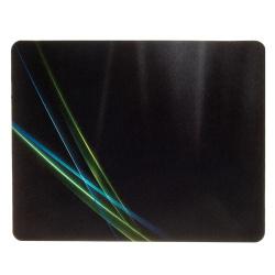 Коврик для мыши Oklick OK-F0250 рисунок/линии неоновые