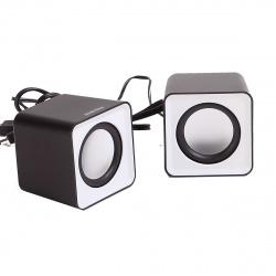 Колонки SmartBuy MINI, мощность 4Вт, USB, серые (SBA-2810)/80