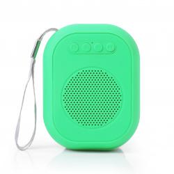 Портативная колонка SmartBuy SUPER BLOOM,  3Вт, Bluetooth, MP3, FM, зеленая (SBS-160)