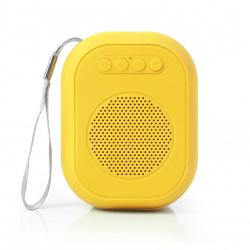 Портативная колонка SmartBuy SUPER BLOOM,  3Вт, Bluetooth, MP3, FM, желтая-оранжевая (SBS-170)