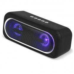 Портативная колонка SmartBuy SATELLITE 2,  10Вт, Bluetooth, MP3, FM, подсветка, черная (SBS-450)