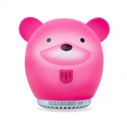 Портативная колонка SmartBuy TALE: МЕДВЕЖОНОК,  3Вт, Bluetooth, MP3, ночник, мягкий силиконовый корпус (SBS-600)